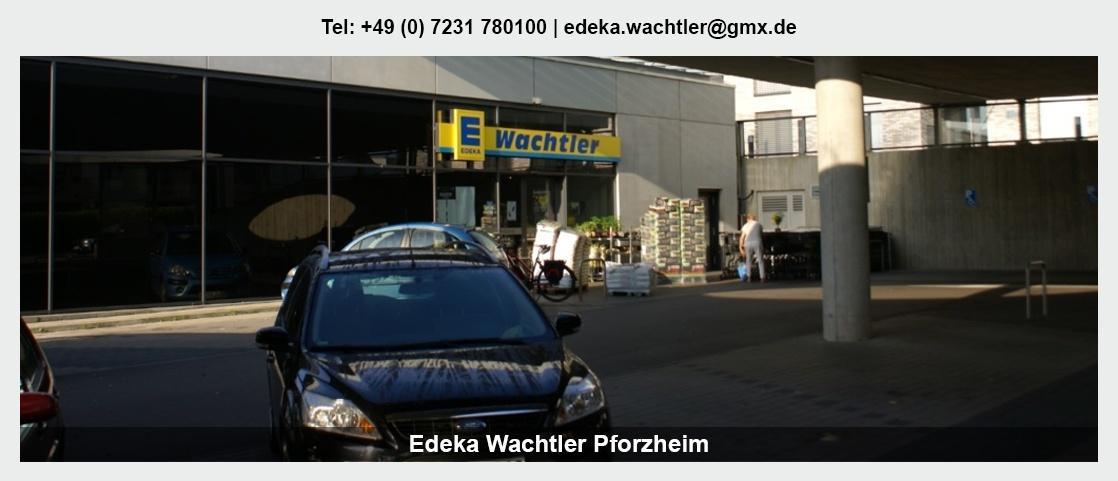 Regionale Produkte Maulbronn - Günter Wachtler e.K: Lieferservice, Plattenservice